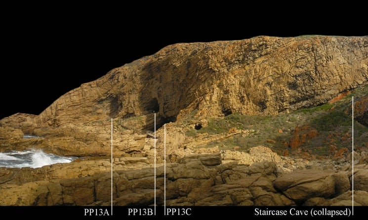 Excavations of pinnacle point caves in south africa