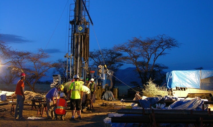 Drilling for paleoclimactic records